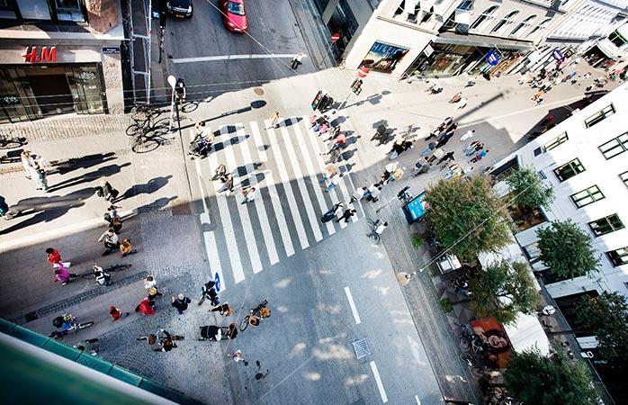 Einkaufsbummel in der Innenstadt Kopenhagens. ©Copenhagen Media Center/Ty Stange