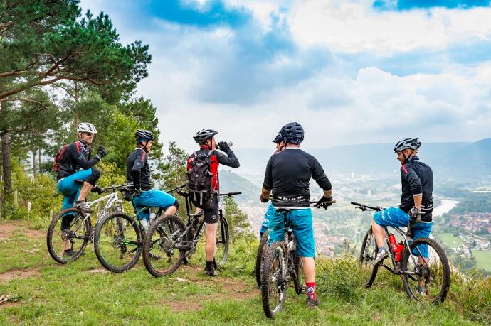 Churfranken-Mountainbike-Tour