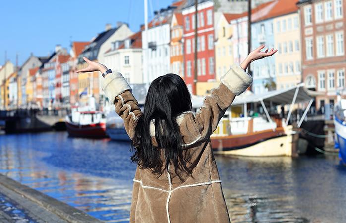Kopenhagen ist eine äußerst fußgängerfreundliche Stadt, aber eine Unterkunft in der Nähe des Nyhavn ist trotzdem praktisch