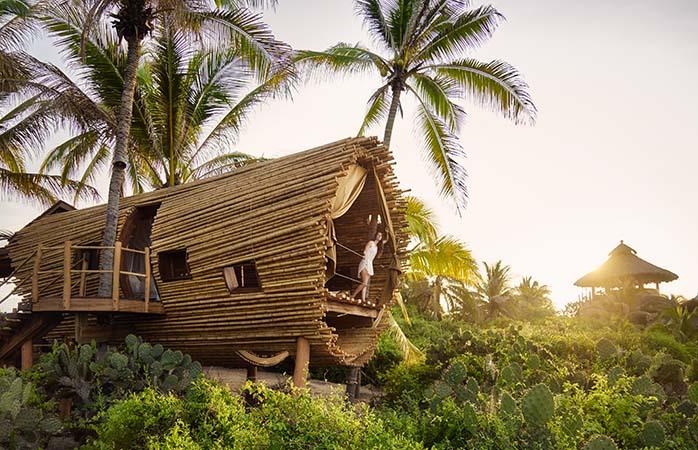 Luxus-Baumhäuser in Mexiko – willkommen im Playa Viva