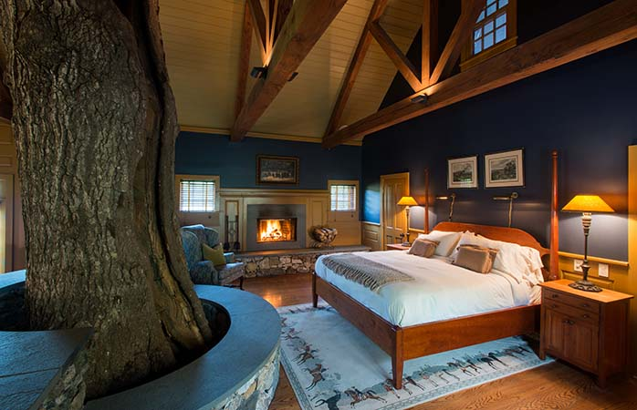 """Die USA sind reich an Baumhaus-Unterkünften, aber die """"Cottages"""" von Winvian in Connecticut sind unser Favorit"""