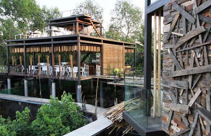 Mit der Natur erwachen im Bangkok Tree House