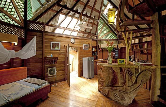 Baumhaushotel in Costa Rica, Erholung in der Tree House Lodge