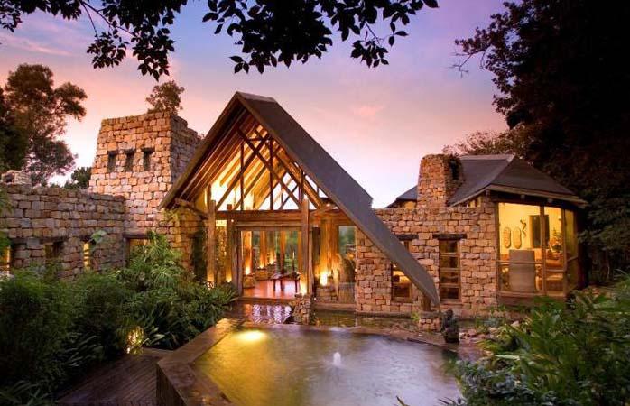 Tarzan-Erlebnisse in der Tsala Treetop Lodge