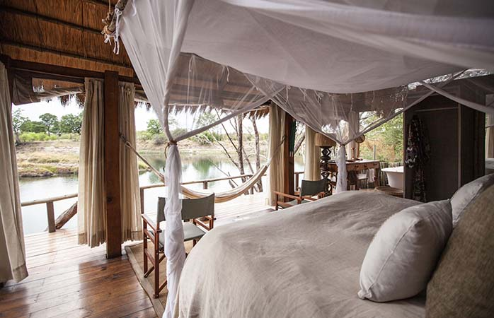 Die Tongabezi Lodge – ein romantischer Ort für einen Baumhausurlaub