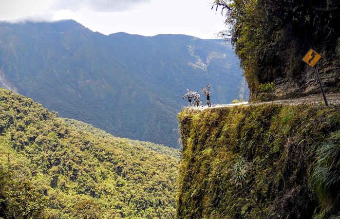 """Fühl dich lebendig auf der """"Todesstraße"""" Boliviens"""