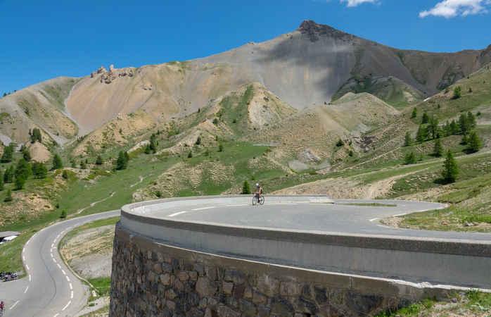 Die heimischen Rinder haben in den Französischen Alpen immer Vorfahrt
