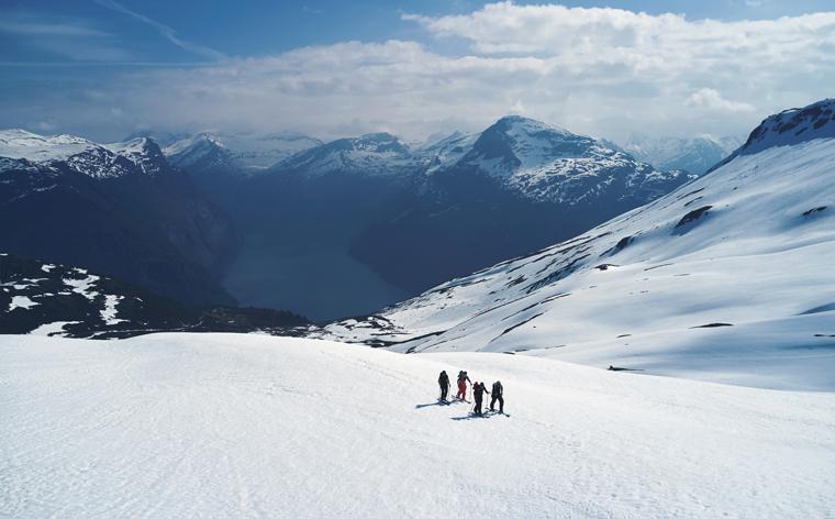 Ski wo Hedvig Wessel fährt – nachzulesen in ihrem guide für die Sunnmöre-Alpen